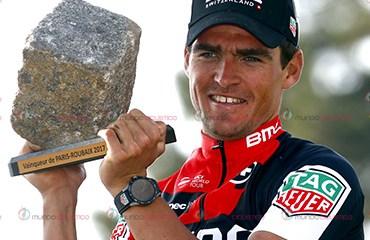 Greg Van Avermaet ganador de la París Roubaix
