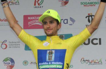 Sergio Martínez defiende liderato en Vuelta de la Juventud en la CRI