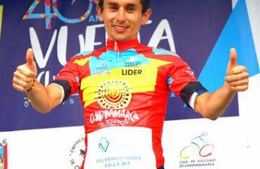 Álvaro Gómez campeón de Vuelta a Cundinamarca