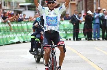 Miguel Ángel Rubiano ganador de etapa reina