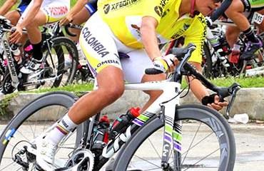 Ana Sanaría quedó a una etapa de culminar su primera participación en el Giro de Italia Femenino