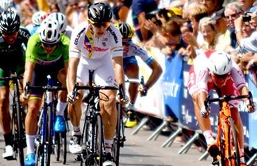Álvaro Hodeg fue el vencedor de manera brillante de la sexta etapa del T