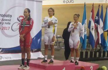 Lina Mabel Rojas, oro en Panamericano de pista de México (Foto-FCC)