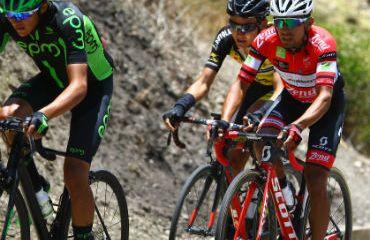 Miguel Ángel Rubiano fue el ganador de la primera etapa y es líder de la prueba boyacense