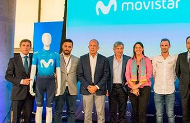 Movistar presenta su nuevo uniforme para el 2018