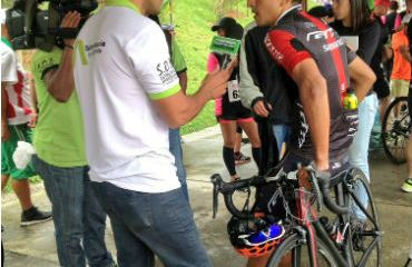 Robinson Chalapud (GW Shimano) se impuso en la primera etapa de la Vuelta a Antioquia