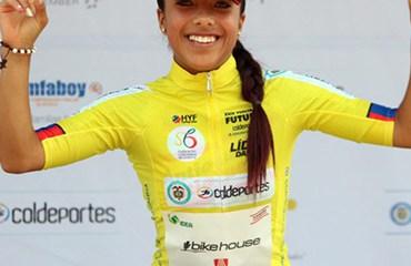 Erika Botero apunta a coronarse campeona de la Vuelta del Futuro Femenina