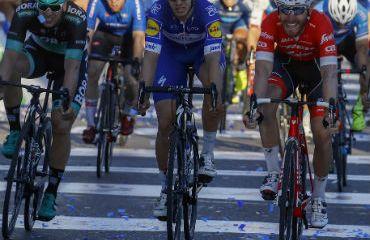 Alvaro Hodeg fue tercero en la última jornada de una Vuelta a San Juan 2018 con inmenso protagonismo del ciclismo colombiano