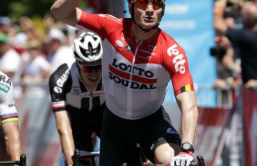 André Greipel ganador de primera etapa del Tour Down Under