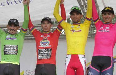 José Serpa (GW-Shimano) campeón de la montaña de Vuelta al Táchira
