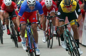 Dylan Groenewegen, primer líder de Vuelta al Algarve
