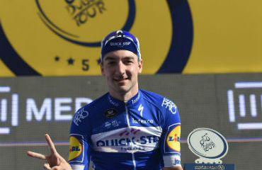 El italiano Elia Viviani, nuevo campeón del Tour de Duba