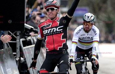 Greg Van Avermaet, una de las estrellas anunciadas en Tour de Flandes este domingo