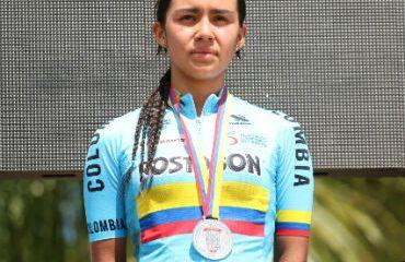 Angie Milena Lara ganó medalla de Plata en Panamericano de MTB (Foto FCC)
