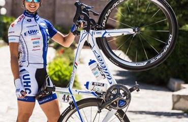 Diana Carolina Peñuela la mejor de las colombianas en Tour de Gila