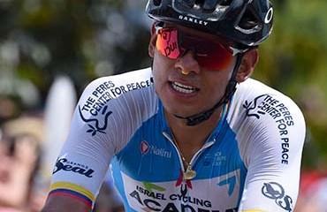 Edwin Avila, séptimo en segunda etapa de Vuelta a Castilla y León