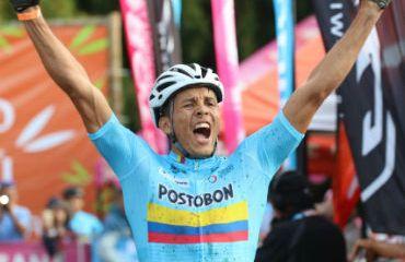 El colombiano Juan Fernando Monroy, Campeón Panamericano de MTB (Foto FCC)