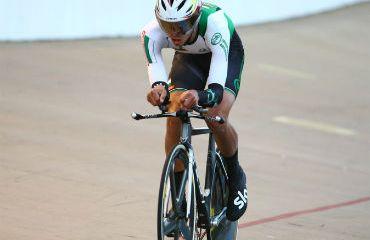 Miguel Ángel Hoyos de Antioquia se llevó la medalla de oro en persecución individual