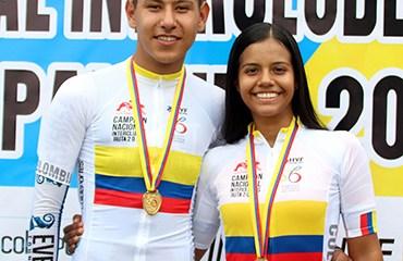 Oriana Saavedra y Brandon Rojas fueron los vencedores de la jornada