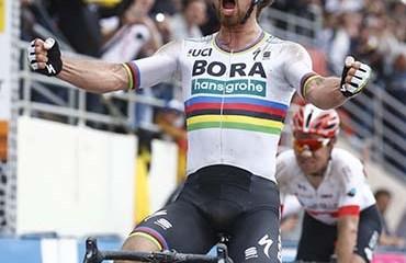 Peter Sagan alcanzó su primer adoquín de la monumental París-Roubaix