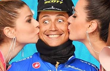 """""""Chavito"""" siguió en el podio general y mantuvo el liderato de la montaña en el Giro 2018"""