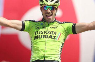 Jon Aberasturi ganador de primera etapa de Vuelta a Aragón