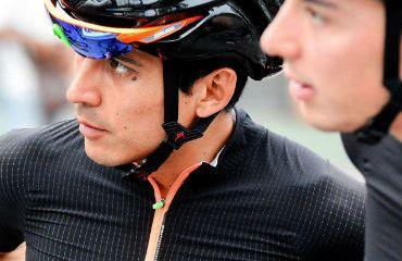 Jorge Camilo Castiblanco, uno de los dos colombianos en el Tour de Japón