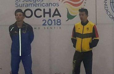 Juan Esteban Arango, medalla de oro en el Ómnium de los Juegos Suramericanos
