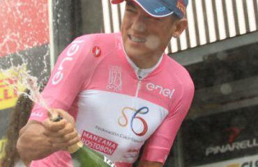 Alejandro Osorio nuevamente líder de Giro de Italia Sub-23