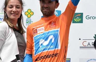 Alejandro Valverde resultó campeón de la Route de Occitanie 2018 en su última prueba antes del inicio del TDF 2018