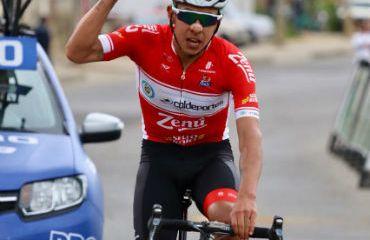 Alexis Camacho ganador de primera etapa y líder de Clásica Boyacá