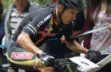 Fabio Castañeda por una nueva figuración en el MTB de los Juegos Suramericanos