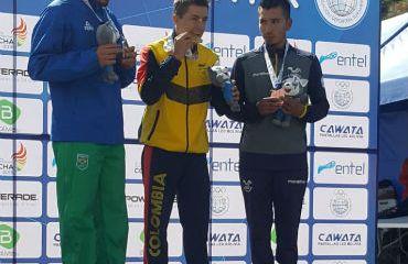 Fabio Castañeda, medalla de oro en Juegos Suramericanos de Cochabamba