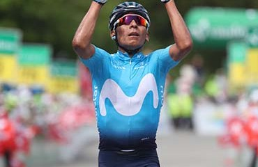Nairo Quintana se hizo con una gran victoria en la séptima etapa del Tour de Suiza