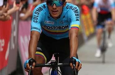 Paredes terminó quinto en la 2a etapa del Giro de Italia Sub 23