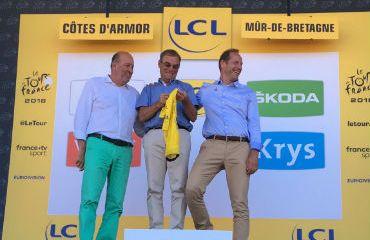 Bernard Hinault hace 40 años obtuvo su primer triunfo en el TDF