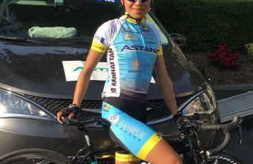 Blanca Liliana Moreno una de las colombianas en Giro Rosa 2018