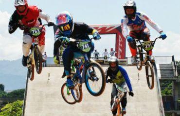 Con entrenamientos arrancó Panamericano de BMX en Medellín