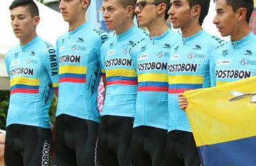 La Selección Colombia durante presentación de Equipos (Foto FCC)