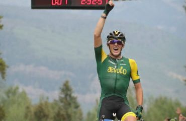 Gage Hecht se impuso en primera etapa de Clásica del Colorado de los EE.UU