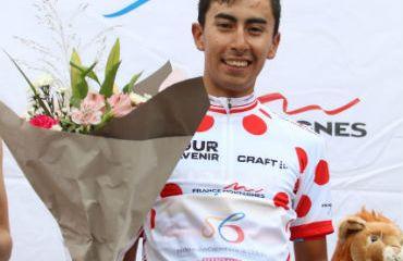 Iván Ramiro Sosa, segundo en la etapa y nuevo líder de la montaña