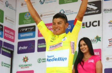 Jonathan Caicedo, virtual campeón de la Vuelta a Colombia 2018