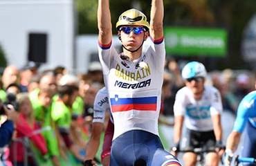 Mohoric se llevó la victoria y el liderato tras la 3a etapa de la Vuelta a Alemania