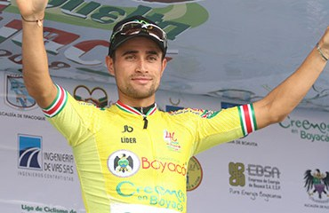 La jornada inaugural de la Vuelta a Boyacá 2018 fue cancelada por lluvia. Alexander Gil (EPM) fue declarado primer líder (Foto©AndersonBonilla)