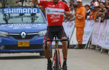 Alexis Camacho se impuso en tercera etapa de Vuelta a Boyacá (Foto-Anderson Bonilla)