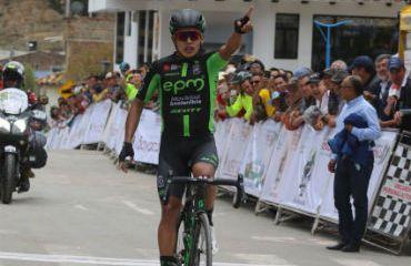 Diego Ochoa se impuso en segunda etapa de Vuelta a Boyacá