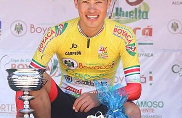 El joven cundinamarqués Germán Chaves se alzó con el título de la Vuelta a Colombia