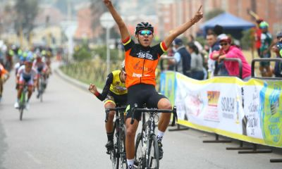 Johan Camilo Ayala, etapa y liderato de Clásica Ciudad de Soacha 2018