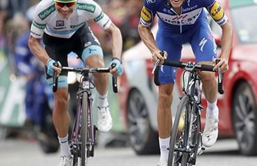 Miguel Ángel López entró al podio de la Vuelta a España 2018 tras una brillante actuación en la última cita con la montaña