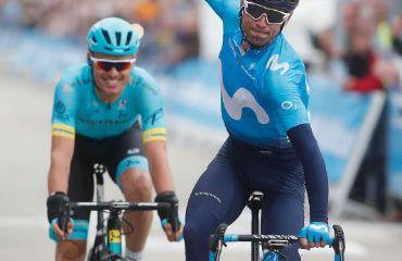 Alejandro Valverde estará este domingo en la fiesta de bicicleta en Madrid-España